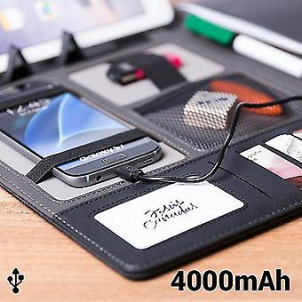 Tablet computers folder with power pack 4000 mah 20 sheets 146024