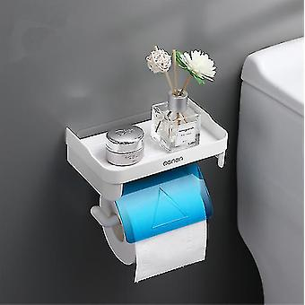 Bathroom accessory sets arrived wall mount roll paper storage rack multi-function toilet paper holder rack bathroom rack