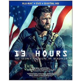 13 timer: The Secret soldater i Benghazi [Blu-ray] USA import