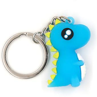 Dinosaur Keychain Sof Silica Gel Cute Keychain For Girls And Boys