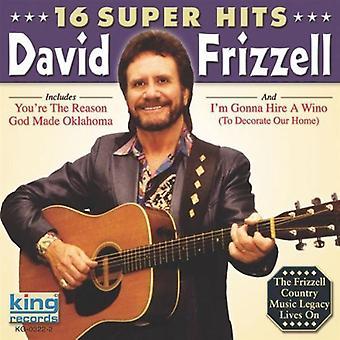David Frizzell - 16 importu USA Super Hits [CD]