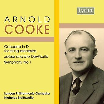 A. Cooke - Arnold Cooke: Conceto in D for String Orchestra; Jabez and the Devil-Suite; Symphony No. 1 [CD] USA import