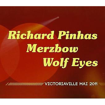 Pinhas, Richard/Merzbow/Wolf Eyes - Victoriaville Mai 2011 [CD] USA import