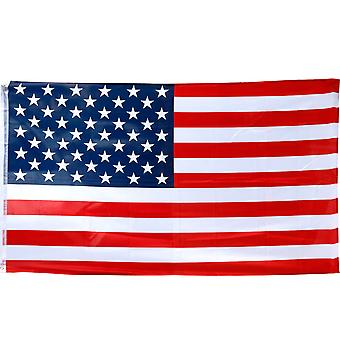 TRIXES store USA Stars and Stripes 5 ft x 3 ft 2016 Rio olympiske lege Flag