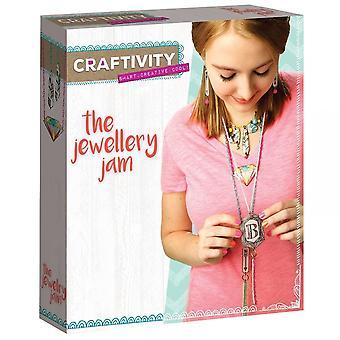 West créations Craftivity les bijoux Jam Kit