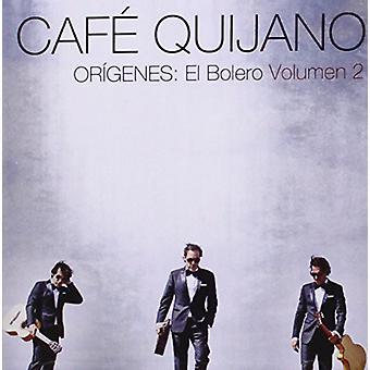 カフェ quijano さん - Origenes:El ボレロ Volumen 2 [CD] USA 輸入