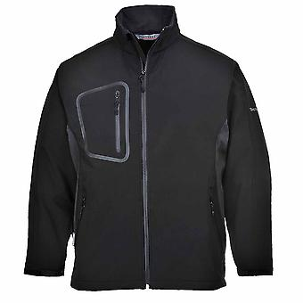 Portwest - Breathable Waterproof Duo Softshell Jacket With Contrast Panels (3L)