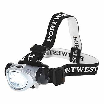 Portwest - Adjustable 40 Lumen LED Utility Head Light With Tilt Control