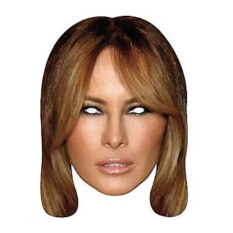 Melania Trump Single 2D Card Party Fancy Dress Mask