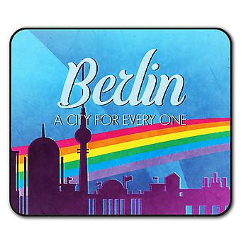 Pride Love Urban City  Non-Slip Mouse Mat Pad 24cm x 20cm | Wellcoda