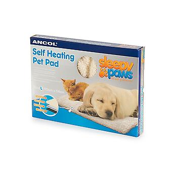 Ancol - selv varme Pet Pad kat/hund seng - stor