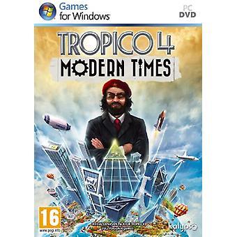 Tropico 4 Modern Times (PC DVD) - As New