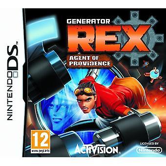 Gerador Rex Agent of Providence (Nintendo DS) - Novo
