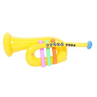 Party Inflatable Trumpet Yellow