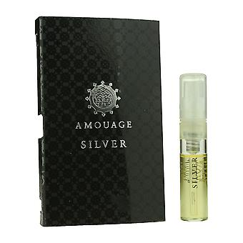 Amouage ' Silver ' EAU de Parfum Spray pentru Man. 05oz Carded flacon (originalformula)