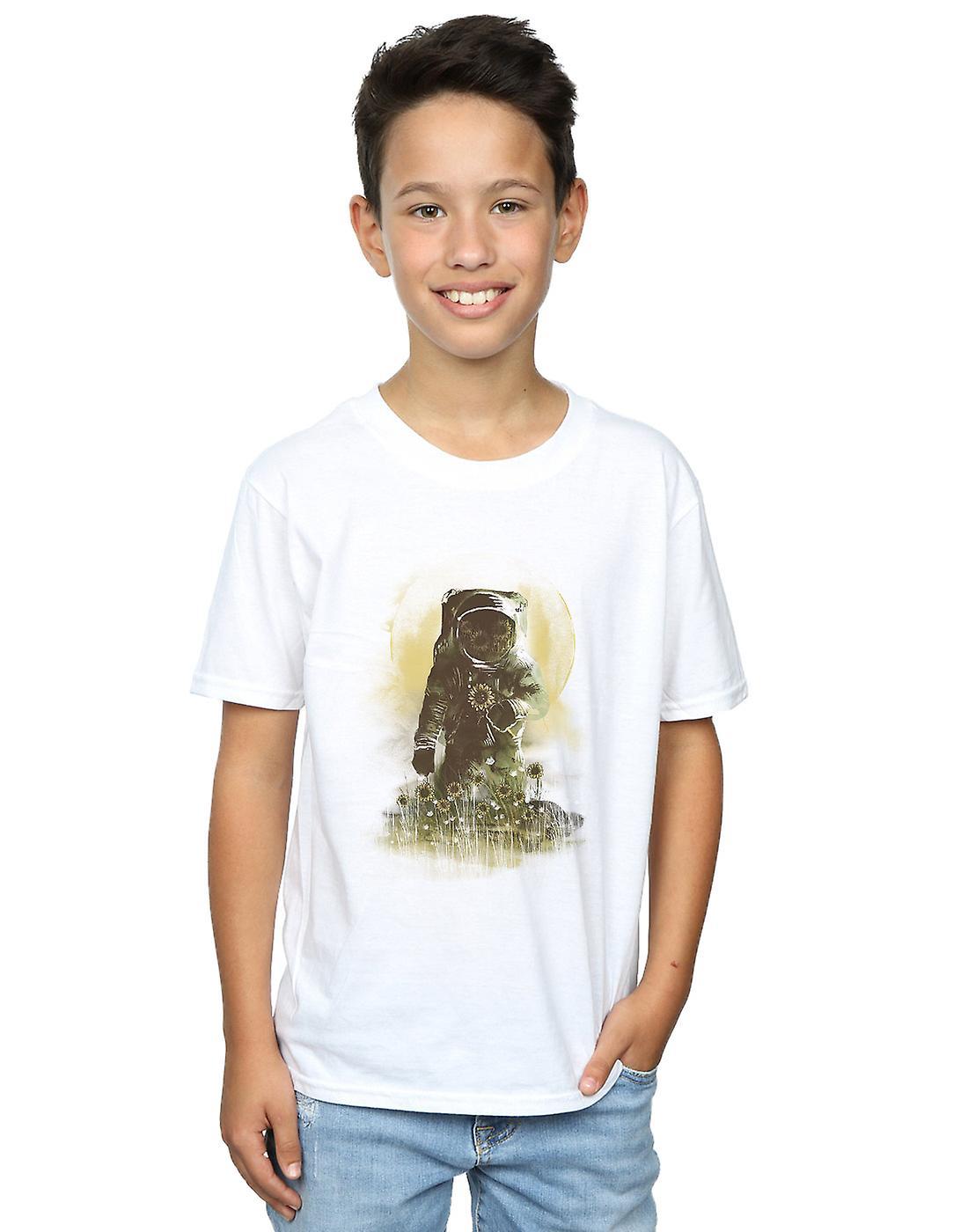 Dan Dingeroz Boys Mars Watercolour T-Shirt