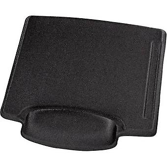 Hama 00054782 Mouse pad with wrist rest Ergonomic Black