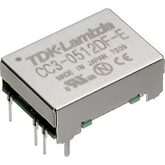 TDK-Lambda CC-3-2405SF-E DC/DC converter (impresión) 24 VCC 5 Vcc 0,6 A 3 W no. de salidas: 1 x