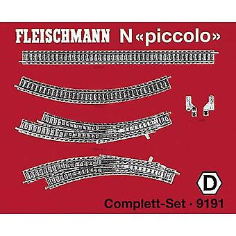 9191 N Fleischmann piccolo (incl. track bed) Expansion set