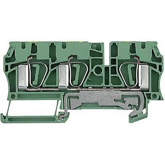Weidmüller 7904170000-1 ZPE 4/3AN 0.5 - 6 mm² Verde, Amarelo