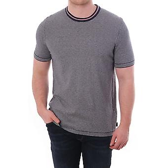 Ted Baker Mens Time Ss Knitted T Shirt