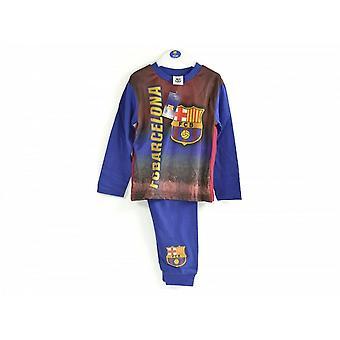 FC Barcelona Childrens Boys Football Pyjamas