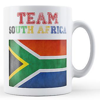 Team South Africa - Printed Mug