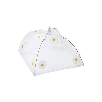 Epicurean Square 30cm Food Umbrella, Daisy