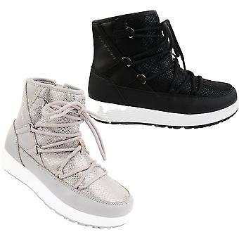 يجرؤ 2B الفتيات Avoriaz Jnr قوية المياه طارد أحذية الثلج الدافئة