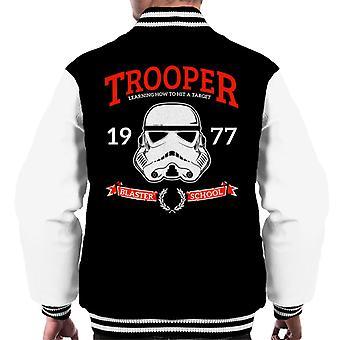Original Stormtrooper Blaster School Men's Varsity Jacket