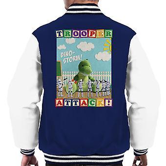 Original Stormtrooper Dino Storm Trooper Attack Men's Varsity Jacket
