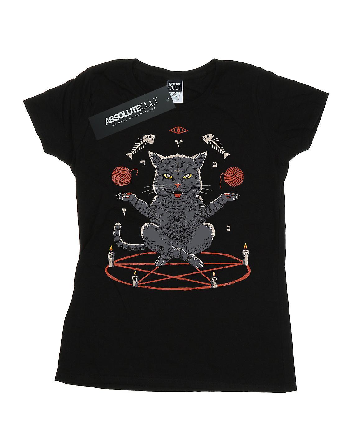 Vincent Trinidad Women's Devious Cat T-Shirt