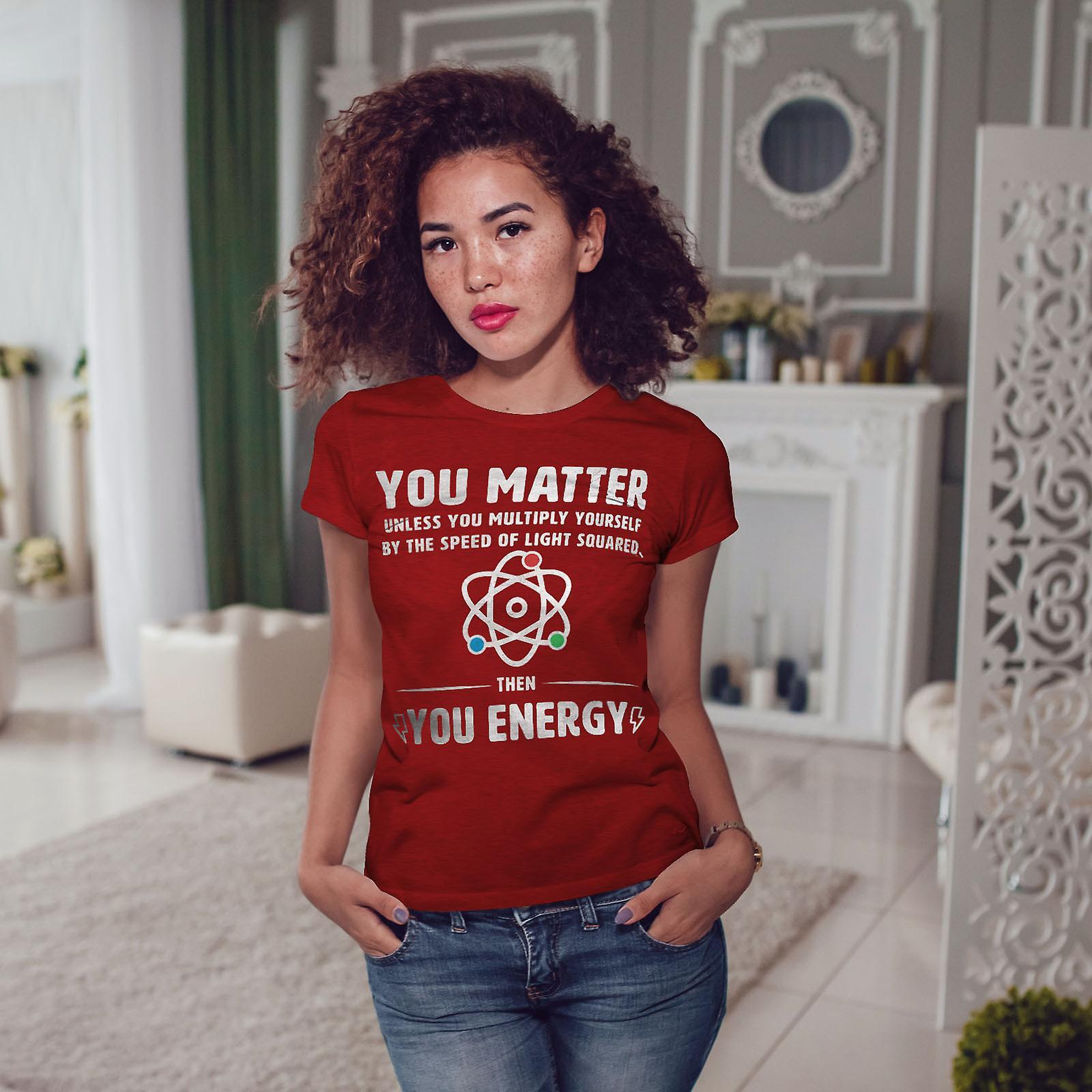 RedT-chemise de femme drôle de Science de la physique | Wellcoda