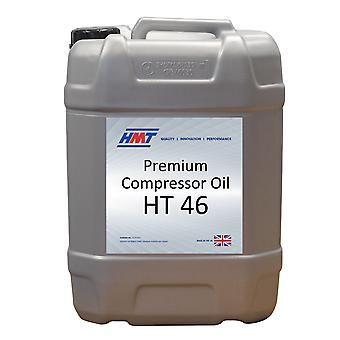 HMT HMTC002 Premium kompressor olja HT 46-20 liter plast - Iso VG 46
