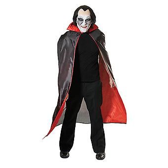 Dracula Cape czerwoną podszewką.