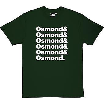 The Osmonds Line-Up Racing Green Men's T-Shirt