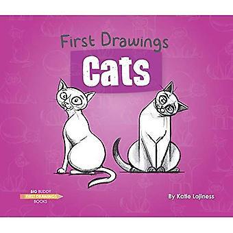Chats (premiers dessins)