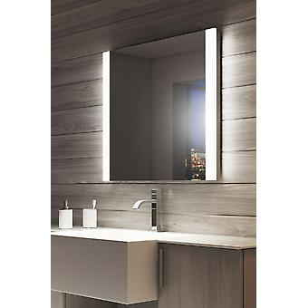 Dolphin Double Edge LED Bathroom Mirror & Sensor & Shave socket k1113v