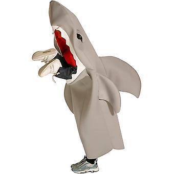 Haai eet Man kind kostuum
