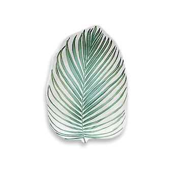 Epikuristen Amazon Floral tropiske blad Melamine liten tallerken