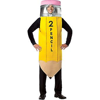 Pencil Adult Costume