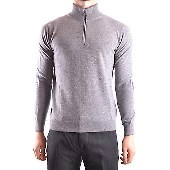 Altea Ezbc048038 Men's Grey Wool Sweater