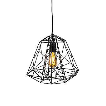 Q-AQA Design lampada a sospensione nero - Quadro