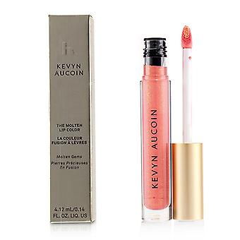 Kevyn Aucoin The Molten Lip Color Molten Gems - # Poppy Topaz - 4.12ml/0.14oz