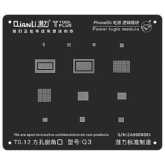 QianLi BGA Stencil Template - Power Logic Module - iPhone 5S - Q3