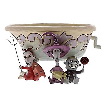 Disney Traditions Lock, Shock & Barrel ' Tricksters and Treats ' Figurine