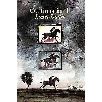 Continuation - No. II by Louis Dudek - 9781550650051 Book