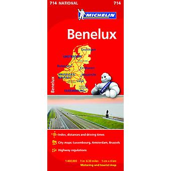 Benelux National Map 714 - 9782067170605 Book