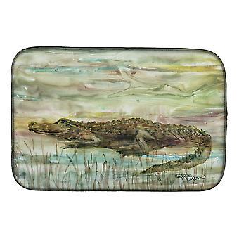 Carolines Treasures SC2016DDM Alligator Sunset Dish tørking matte