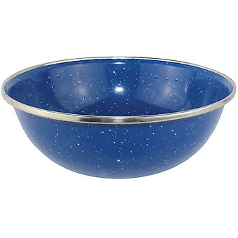 Yellowstone El 15cm Camping Bowl Blue Mottled Effect